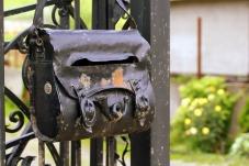 Postilaatikko metallinen
